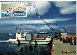 Carte Maximum Kerguelen 1987 - Tierras Australes Y Antárticas Francesas (TAAF)