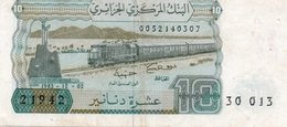 ALGERIA 10 DINARS 1983 P-132a.1 CIRC - Algeria