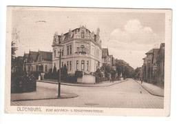 Ansichtskarte , Oldenburg , Ecke Bismarck - Und Roggemannstrasse , 1909 - Oldenburg