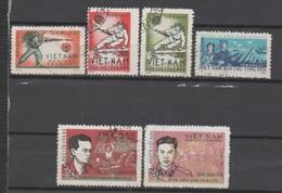 Viet-Nam Nord, Petit Lot De Timbres De Franchise (n° 6/9; 12 Et 15) - Vietnam