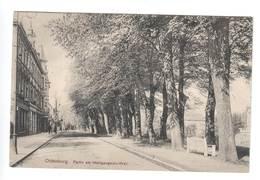 Ansichtskarte , Oldenburg , Partie Am Heiligengeist- Wall , 1911 - Oldenburg
