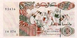ALGERIA 200 DINARS 1992 P-138a.2 UNC - Algeria