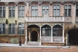 AK Furnes - Perron De L'Hôtel De Ville - Facade Renaiss. - Feldpost 1. Landsturn-Inf. Bataillon Mannheim - 1915 (48561) - Veurne
