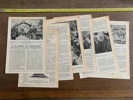 1914 JST A LA GLOIRE DU PRECURSEUR INAUGURATION MONUMENT HEGESIPPE SIMON SARRIEN D AULNAY - Alte Papiere