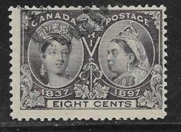 Canada Scott # 56 Used Jubilee, 1897, CV$70.00 - 1851-1902 Reign Of Victoria