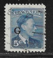 Canada Scott # O20 Used Postage Due, 1950 - Officials