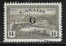 Canada Scott # O22 Used Postage Due, 1950 - Officials
