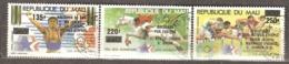 Mali: Full Set Of 3 Used CTO Stamps, Olympic - Overpring, 1984, Mi#1020-1022 - Mali (1959-...)