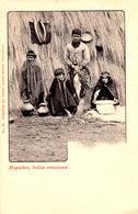 CONCEPTION : MAPUCHES - INDIOS ARAUCANOS - CARTE POSTALE PRÉCURSEUR / FORERUNNER POSTCARD ~ 1900 (ae345) - Chili
