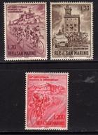 REPUBBLICA DI SAN MARINO 1965 GIRO CICLISTICO D'ITALIA SERIE COMPLETA COMPLETE SET MNH - Unused Stamps
