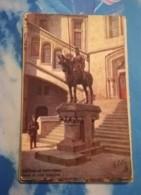 60 - PIERREFONDS - D'APRES GILETTE - CHATEAU DE PIERREFONDS STATUE DE LOUIS D'ORLEANS - CPA TUCK VIERGE - Pierrefonds