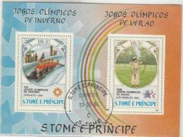 BLOCK SAO TOME E PRINCIPE 1984 - Sao Tomé Y Príncipe