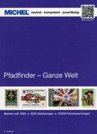 MICHEL Pfadfinder Katalog 2020 Neu 70€ Scouts Alle WELT Stamps/sheets Catalogue Of The World ISB978-3-95402-286-1 - Philatélie