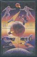 RN061  RUSSIA   - Coll. Spaziale Russia - Usa   4  V. - 1992-.... Federazione