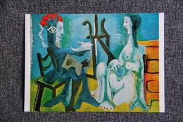 Art, Peinture, PICASSO : Le Peintre Et Son Modèle. - Pittura & Quadri