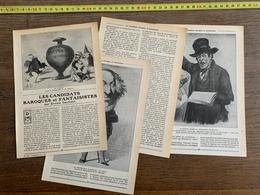 1914 JST LES CANDIDATS BAROQUES ET FANTAISISTES ERNEST GAUBERT - Vieux Papiers