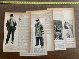 1914 JST LA CARRIERE D ANDRE ANTOINE HG IBELS PAYS DE BAGDAD QUE LE RAIL VA CONQUERIR KURDES - Vieux Papiers