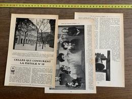 1914 JST CELLES QUI CONNURENT LA PISTOLE N 12 CLOCHE SAINT LAZARE PISTOLIERES - Vieux Papiers