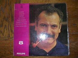 """33 Tours 25 Cm - GEORGES BRASSENS   -  PHILIPS 76512  """" LE TEMPS NE FAIT RIEN A L'AFFAIRE """" + 7 ( 2ème Pochette -  SETE - Sonstige - Franz. Chansons"""