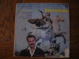 """33 Tours 25 Cm - GEORGES BRASSENS   -  PHILIPS 76563  """" LESTROMPETTES DE LA RENOMMEE """" + 8 ( Pochette Mate  SETE - CETTE - Sonstige - Franz. Chansons"""
