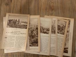 1914 JST CENTENAIRE DE LA CAMPAGNE DE FRANCE GENERAL BONNAL - Vieux Papiers