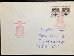 Czechia, Circulated Cover, 1990 - Lettres & Documents