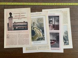 1914 JST CENTENAIRE NAPOLEON LES DERNIERS JOURS DE L IMPERATRICE JOSEPHINE MALMAISON LUCIEN CORNET - Vieux Papiers