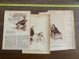 1914 JST LA CHAMBRE SILENCIEUSE DE FRANCIS DE MIOMANDRE - Vieux Papiers