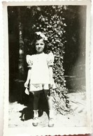 №65  Photography Of Girl, Child- 1950's, Old FOTO PHOTO - Anonymous Persons