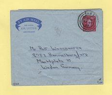 Nigeria - Yaba - 1963 - Aerogramme Destination Allemagne - Nigeria (1961-...)