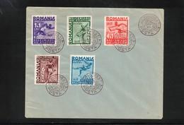 Romania 1937 Balkan Athletics Championship Interesting Cover - Atletismo