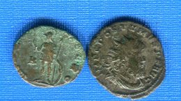 Postume  259 /268 +  Claudius  Ll    268 /270 - 5. L'Anarchie Militaire (235 à 284)