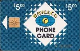 Bahamas - BAH-C02Aa - $5 - 6-digit Cn - R - Bahama's
