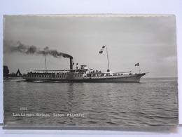 OS 2524 - LAC LEMAN - BATEAU SALON HELVETIE - Schiffe