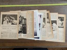 1914 JST L EMOTION CHEZ LE CHIRURGIEN DOCTEUR DOYEN - Vieux Papiers