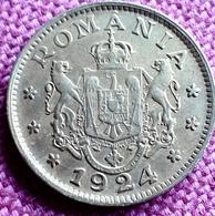 ROUMANIA ; 1 LEU 1924 P UNC KM 463 Ref 5529 - Roumanie