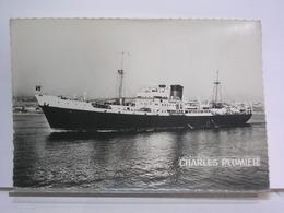 PAQUEBOT - COMPAGNIE GENERALE TRANSATLANTIQUE - CHARLES PLUMIER - Dampfer