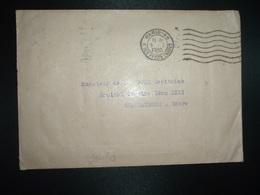 LETTRE HENRI THIAUDE OBL.MEC.5 I 1940 PARIS 49 à Capitaine De La DURE HOPITAL COMPLEMENTAIRE LEON XIII CHATEAUROUX INDRE - Marcophilie (Lettres)