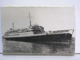 PAQUEBOT EL DJEZAIR- COMPAGNIE DE NAVIGATION MIXTE - 1955 - Dampfer