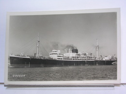 PAQUEBOT - OREGON - Dampfer