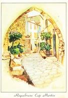 06 Roquebrune Cap Martin Vieille Rue (2 Scans) - Roquebrune-Cap-Martin