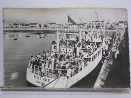 QUIBERON - DEPART DU BELLE ISLE - Ferries
