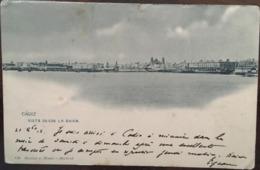 CPA, Cadiz, Vista Desde La Bahia, éd Hauser Y Menet / Madrid, écrite En 1902, ESPAGNE - Cádiz