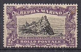 SAN MARINO 1918 PRO COMBATTENTI SASS. 61 MNH XF - San Marino