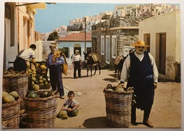 Carte Postale De Grèce - 159 - Naxos - Coin Pittoresque De L'île - Anes De Bât - Grèce