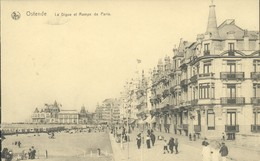 Oostende : La Digue Et Rampe De Paris - Oostende
