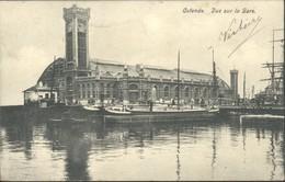 Oostende : Vue Sur La Gare - Oostende
