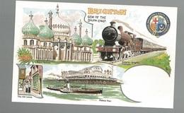 CPSM- Th. Transp. N°260, Brighton ,Gem Of The South Coast , Ed. Dalkeith - Chemins De Fer