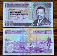 2011 Burundi 100 Francs UNC WAHRUNG AFRIKA BANKNOTE - Burundi