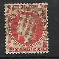 France  N°  31b  Oblitéré  Gros Chiffres         B / TB    Soldé à Moins De 10  %  ! ! ! - 1863-1870 Napoleon III With Laurels